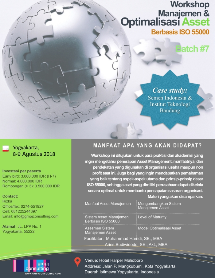 Workshop Asset Management